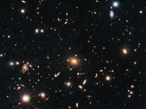 Hubble astronomers check the prescription of a cosmic lens