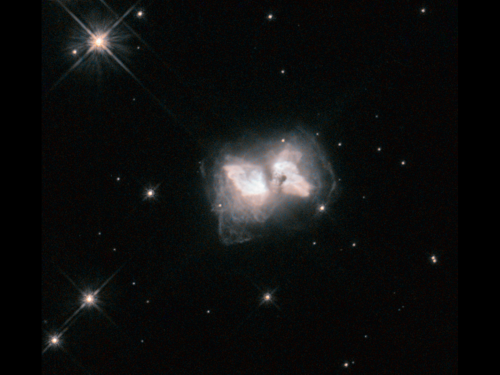 Hubble nets an interstellar butterfly