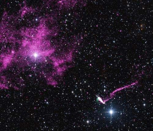 IGR J11014-6103: Chandra sees runaway pulsar firing an extraordinary jet