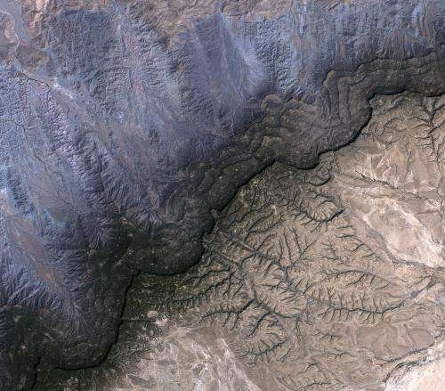 Image: Cal Madow mountain range, Somalia