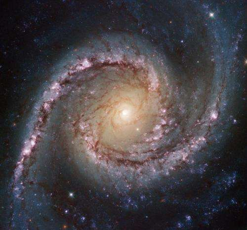 Image: Grand swirls from Hubble