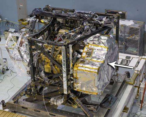 Image: NASA's Webb Telescope NIRSpec instrument