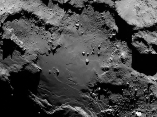 Image: Rosetta's target up close