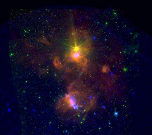 Image: Star-forming region ON2