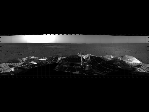 Image: Ten years ago, Spirit rover lands on Mars