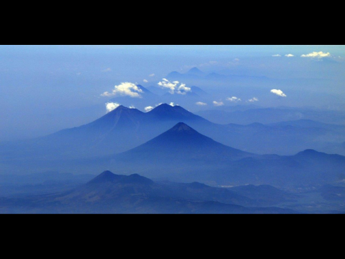Image: Volcanoes in Guatemala