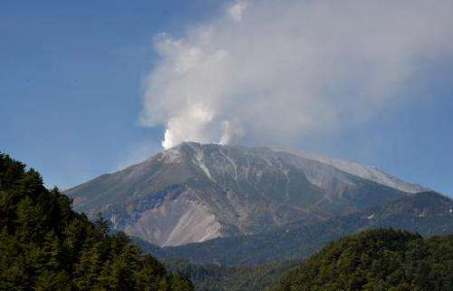 Japan could be nearly destroyed by a massive volcanic eruption over the next century,putting almost all of the country's 127 mi