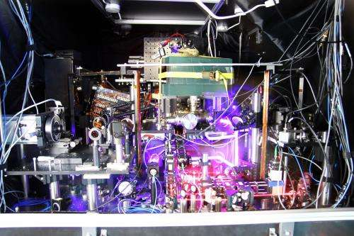 JILA strontium atomic clock sets new records in both precision and stability