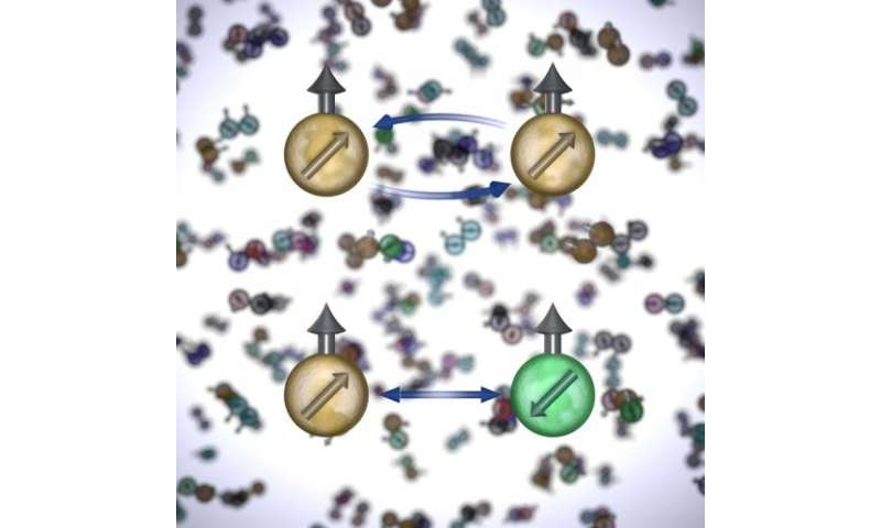 JILA team finds first direct evidence of 'spin symmetry' in atoms