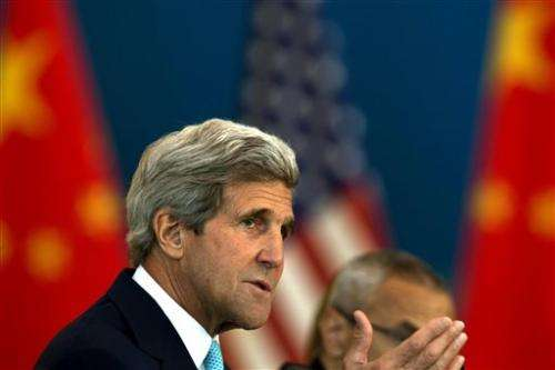 Kerry cites frank cyberhacking talks with China