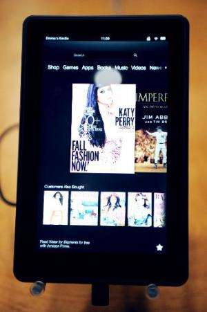 Kindle Fire HD introduced by Jeff Bezos on September 06, 2012 in Santa Monica, California