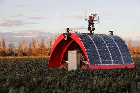 Ladybird puts field robotics on award-winning level