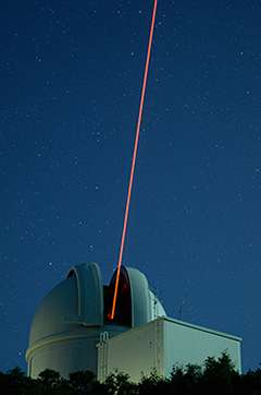 Laser-wielding robot probes exoplanet systems