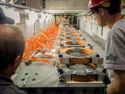 Linear accelerator mimics incredibly energetic particles hitting atmosphere
