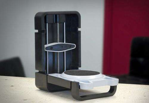 Little, low-priced 3-D scanner from Toronto part of CES draw