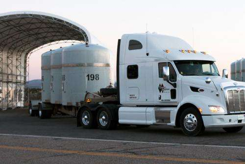 Los Alamos National Laboratory resumes transuranic waste shipments