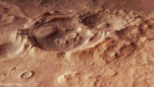 Mars deep down
