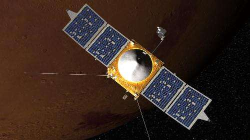 MAVEN on track to carry out its science mission