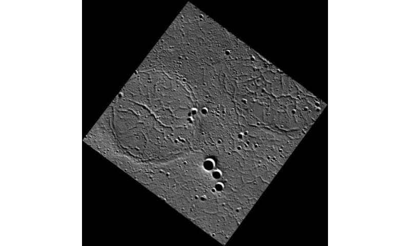 MESSENGER spies a soccer ball on Mercury