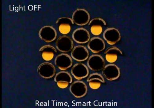 Engineers create light-activated 'curtains' (w/ Video)