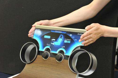 Sharp Free-Form Display to free up display designs