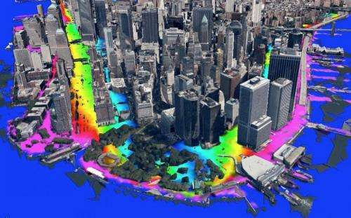 Model now capable of street-level storm-tide predictions