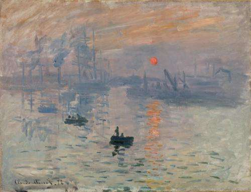 Monet's 'Impressionism' birth dated by Texas State's 'Celestial Sleuth'