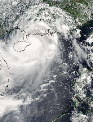 NASA sees super typhoon Rammasun eyeing landfall