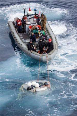 NASA suspends Orion space capsule test in ocean