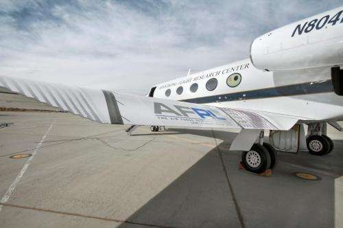 NASA Tests Revolutionary Shape Changing Aircraft Flap for the First Time