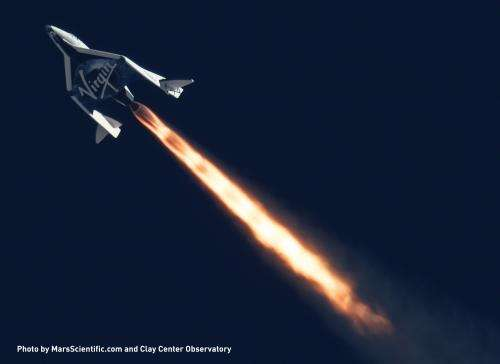 NASA, Virgin Galactic announce payloads for SpaceShipTwo flight