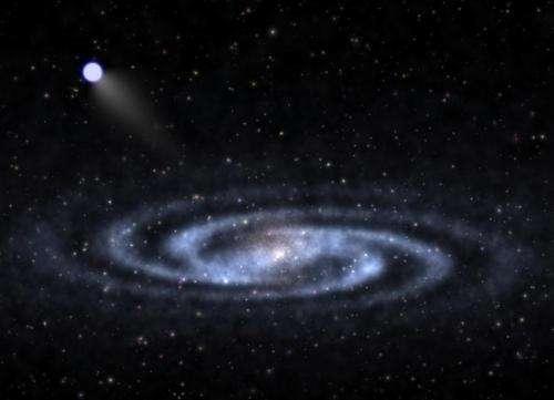 Nearest bright 'hypervelocity star' found