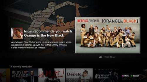 Netflix unveils new way to share recommendations