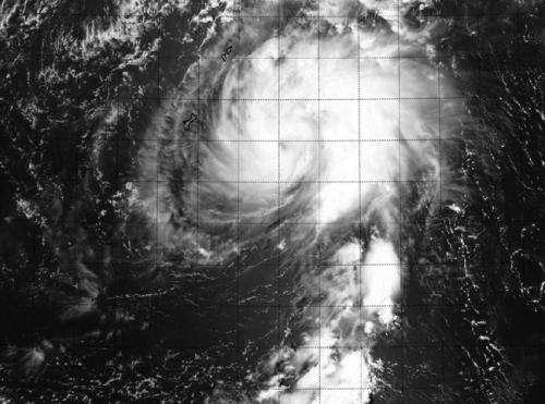 Newborn Tropical Storm Tapah threatens Saipan and Tinian