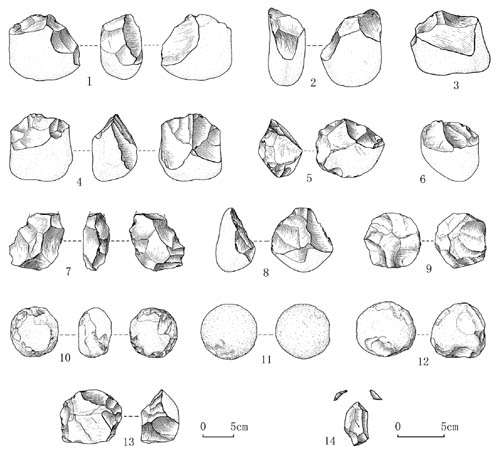 New Paleolithic sites discovered in Hanzhong Basin, Central China