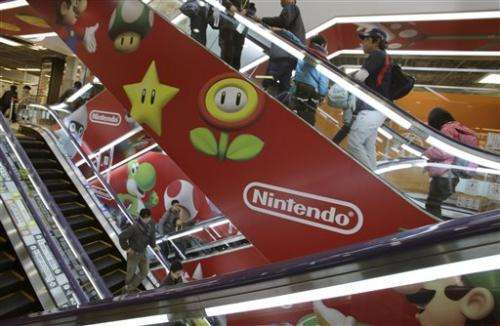 Nintendo profit falls on sluggish Wii U sales