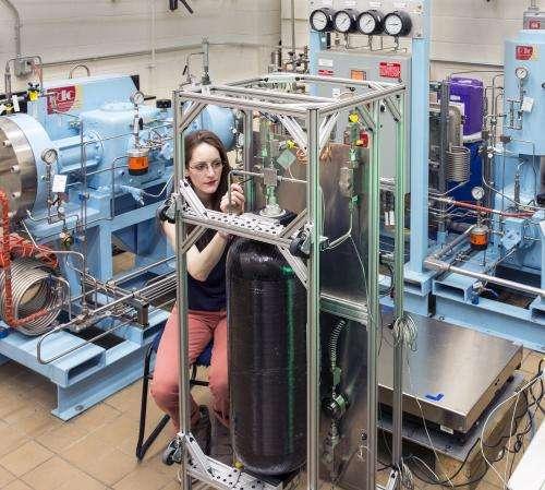 NIST develops prototype meter test for hydrogen refueling stations