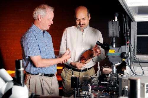 Novel porous silicon microfabrication technique increases sensing ability