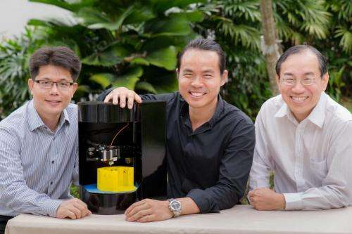 ​NTU start-up, Blacksmith Group, launches Singapore's first 3D printer-cum-scanner