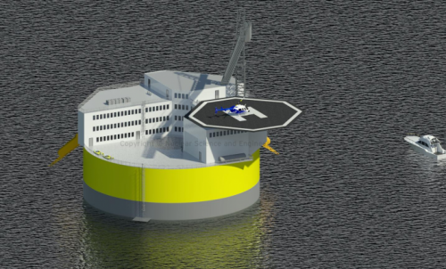 Offshore floating nuclear plant group to crowdsource ideas for new reactor design