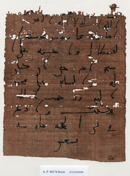 Papyrus, parchment and paper trails