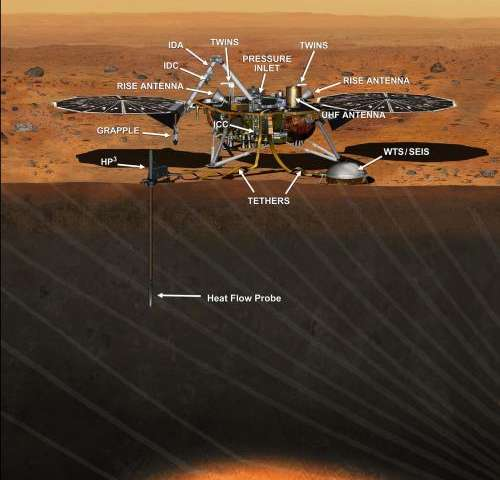 Construction to begin on 2016 NASA Mars lander