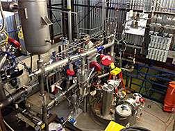 Prototype cryostat for neutrino experiment exceeds purity goals