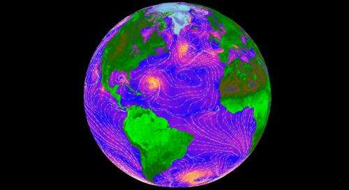 QuikScat's eye on ocean winds lives on with RapidScat