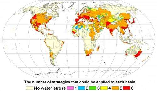 Reducing water scarcity possible by 2050