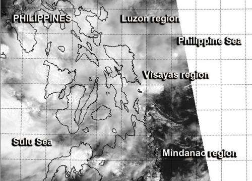 Remnants of Tropical Depression Peipah still raining on Philippines