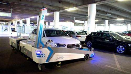 Robot valet to park cars at German airport