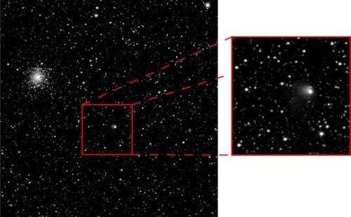 Rosetta's target comet is becoming active