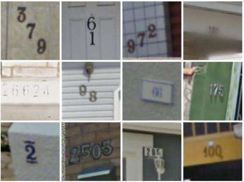 Google team's neural network approach works on street numbers