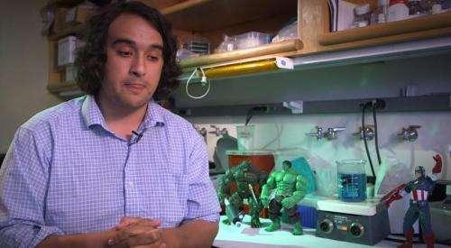 Stanford biologist explains science of superheroes' origin stories
